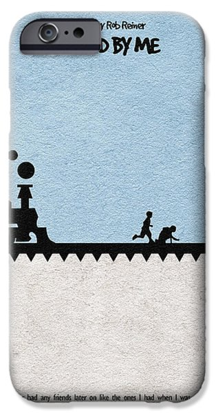 Gift Idea iPhone Cases - Stand by Me iPhone Case by Ayse Deniz