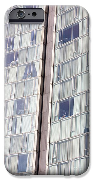 Facade iPhone Cases - Standard Hotel Facade iPhone Case by Jannis Werner