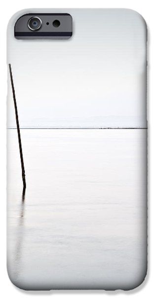 Waterscape iPhone Cases - Standing alone iPhone Case by Jorge Maia
