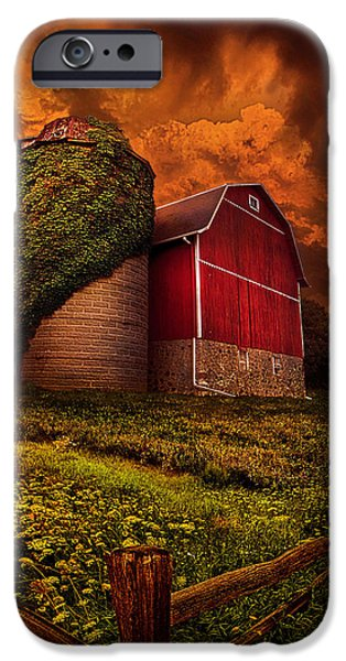 Storm iPhone Cases - Standing Tall iPhone Case by Phil Koch