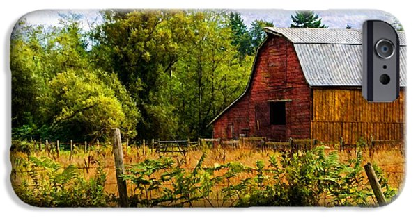 Old Barn iPhone Cases - Standing The Test Of Time iPhone Case by Jordan Blackstone