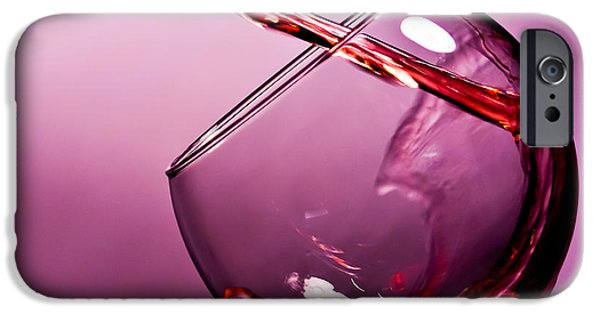 Red Wine iPhone Cases - Standing water iPhone Case by Matthew Trudeau