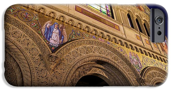 Quad iPhone Cases - Stanford University Memorial Church Faith iPhone Case by Scott McGuire