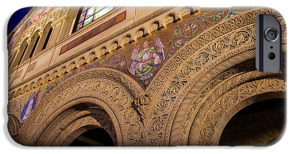 Quad iPhone Cases - Stanford University Memorial Church Hope iPhone Case by Scott McGuire