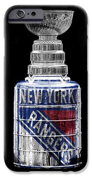 Hockey Photographs iPhone Cases - Stanley Cup 4 iPhone Case by Andrew Fare