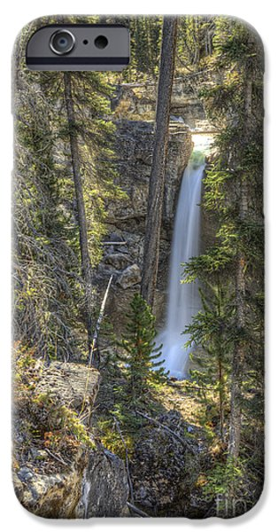 Stanley Falls at Beauty Creek iPhone Case by Brian Stamm