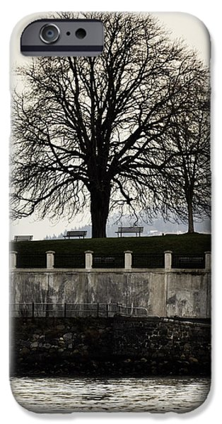 Stanley Park iPhone Cases - Stanley Park iPhone Case by Jerry Cordeiro