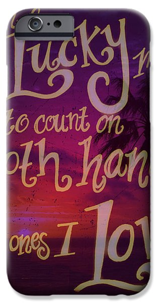 Pearl Jam iPhone Cases - Stans Beach 2 iPhone Case by Liz Martinez