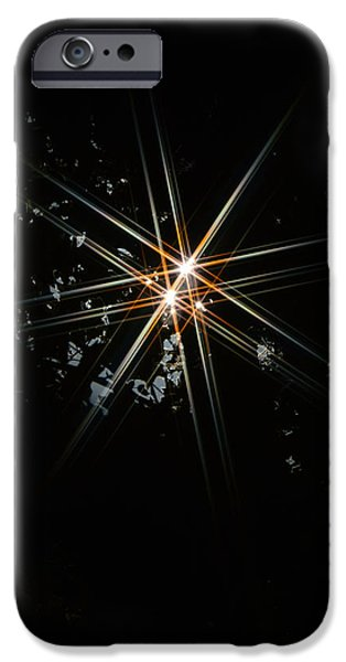 Stargazing iPhone Cases - Star Bright iPhone Case by Donna Blackhall
