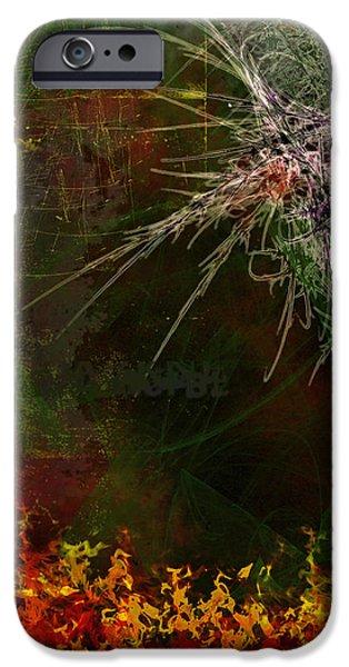 Star Burst iPhone Case by Christopher Gaston