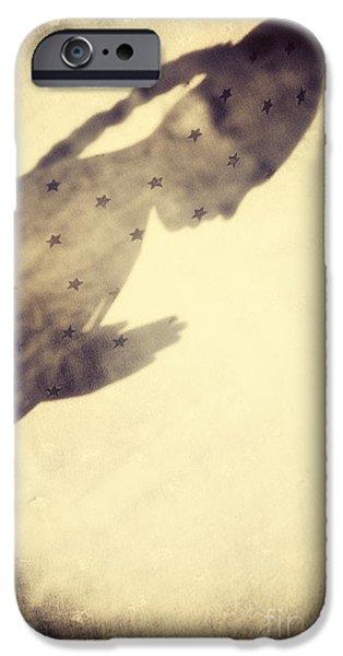 Star Child iPhone Case by Tim Gainey