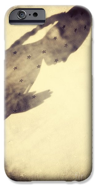 Innocence iPhone Cases - Star Child iPhone Case by Tim Gainey