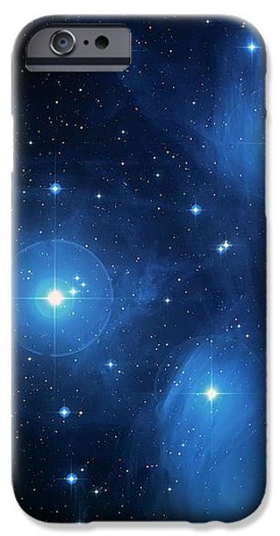 Star Cluster Pleiades Seven Sisters iPhone Case by The  Vault - Jennifer Rondinelli Reilly