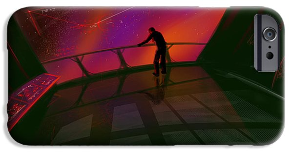 Stellar iPhone Cases - Star Gazer iPhone Case by James Christopher Hill
