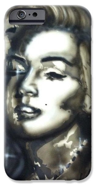 Airbrush iPhone Cases - Star Struck iPhone Case by Andrew Pesce