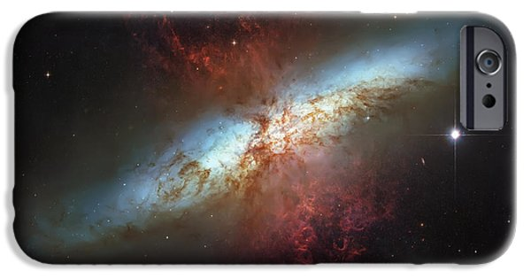 The Hatchery iPhone Cases - Starburst Nebula iPhone Case by The  Vault - Jennifer Rondinelli Reilly