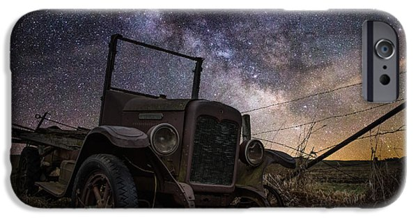Decay iPhone Cases - Stardust and  Rust iPhone Case by Aaron J Groen