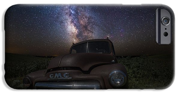 Rift iPhone Cases - Stardust and Rust GMC  iPhone Case by Aaron J Groen