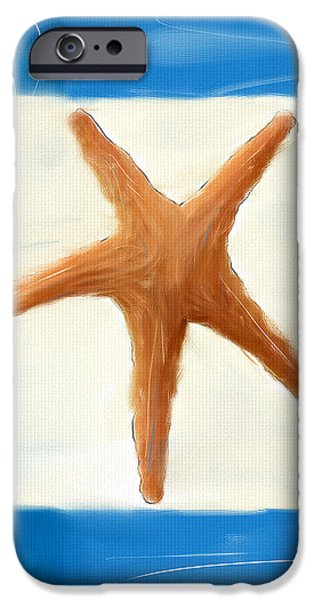 Starfish Galore iPhone Case by Lourry Legarde
