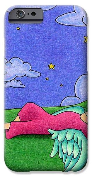 Stargazer iPhone Case by Sarah Batalka