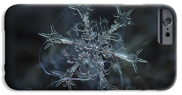 Small iPhone Cases - Snowflake photo - Starlight iPhone Case by Alexey Kljatov