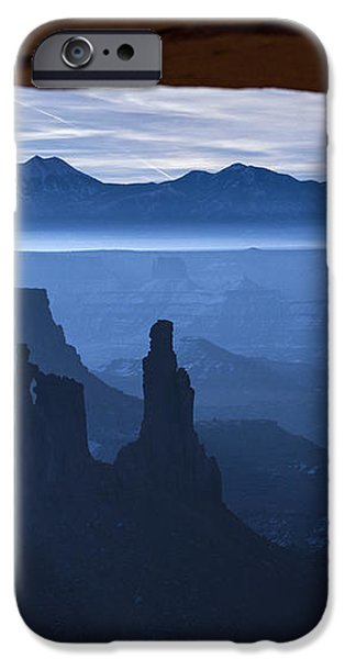 Starlit Mesa  iPhone Case by Dustin  LeFevre
