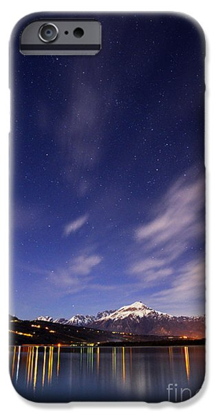 Night iPhone Cases - Starry night iPhone Case by Yuri Santin