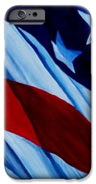 STARS and BARS iPhone Case by Julie Brugh Riffey