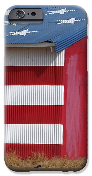 Old Glory iPhone Cases - Stars and Stripes iPhone Case by Art Block Collections