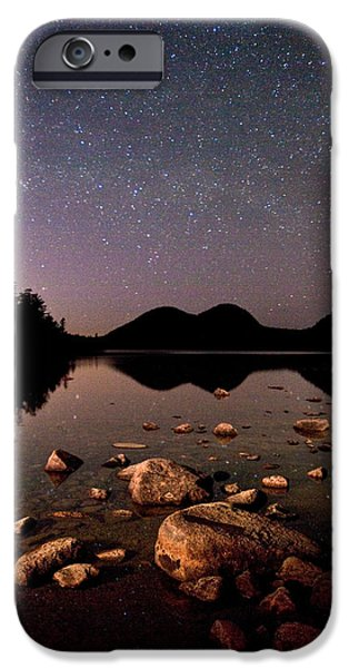 Stars over the Bubbles iPhone Case by Brent L Ander