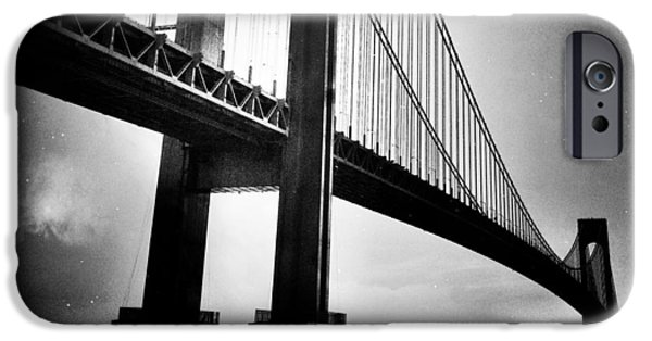 Natasha Marco iPhone Cases - Stars Over The Verrazano iPhone Case by Natasha Marco