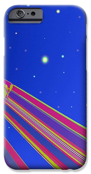 Starscrapers iPhone Case by Wendy J St Christopher