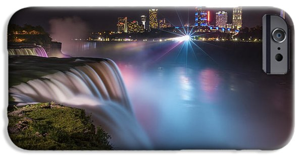 Niagara Falls iPhone Cases - Starstruck iPhone Case by Evelina Kremsdorf
