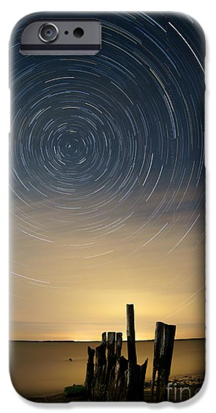 Startrails 2 iPhone Case by Benjamin Reed