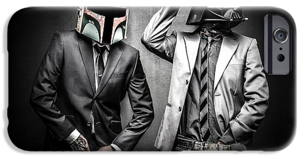Storm iPhone Cases - Starwars suitup iPhone Case by Marino Flovent
