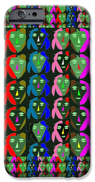 Creepy iPhone Cases - STATE OF MIND every bit in love iPhone Case by Navin Joshi