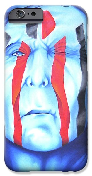 Best Sellers -  - Airbrush iPhone Cases - State of the Nation iPhone Case by Robert Martinez