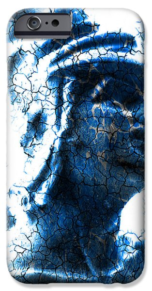 Dominating iPhone Cases - Statue of a gladiator  iPhone Case by Toppart Sweden