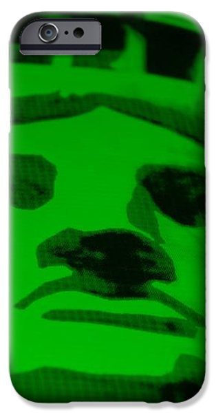 STATUE OF LIBERTY in GREEN iPhone Case by ROB HANS