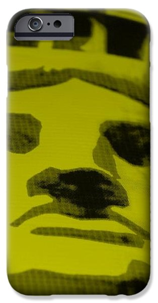 STATUE OF LIBERTY in YELLOW iPhone Case by ROB HANS