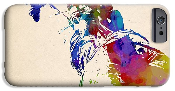 Statue Of Liberty Paintings iPhone Cases - Statue of Liberty iPhone Case by Victor Gladkiy