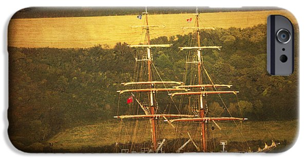 Tall Ship iPhone Cases - Stavros S Niarchos iPhone Case by Brian Roscorla