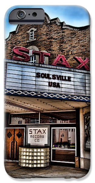 Best Sellers -  - Disc iPhone Cases - Stax Records iPhone Case by Stephen Stookey