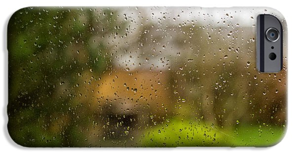Rainy Day iPhone Cases - Staying home iPhone Case by Kunal Mehra
