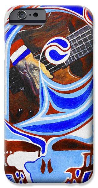 Phillies Paintings iPhone Cases - Steal Your Phils iPhone Case by Kevin J Cooper Artwork