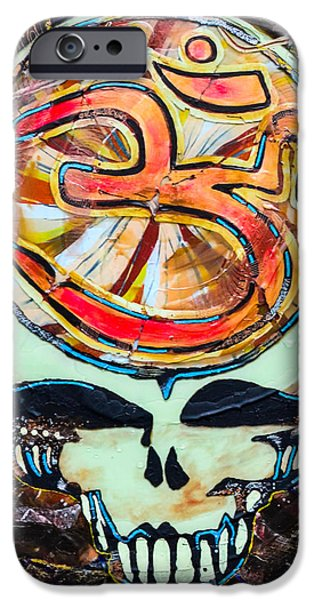 Sacred Glass iPhone Cases - Steal Your Search For The Sound iPhone Case by Kevin J Cooper Artwork