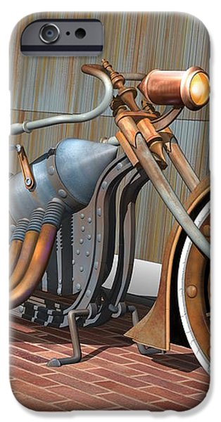 Steam Chopper iPhone Case by Stuart Swartz
