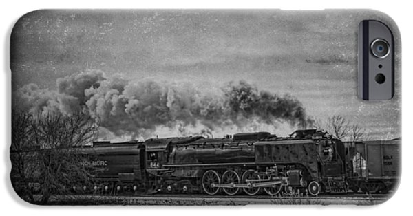 Jeff Swanson iPhone Cases - Steam Engine iPhone Case by Jeff Swanson