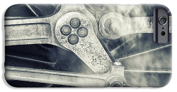 Mechanism iPhone Cases - Steam Power iPhone Case by John Potter