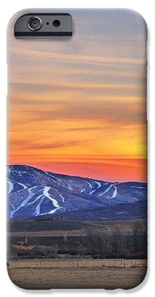Steamboat Alpenglow iPhone Case by Matt Helm